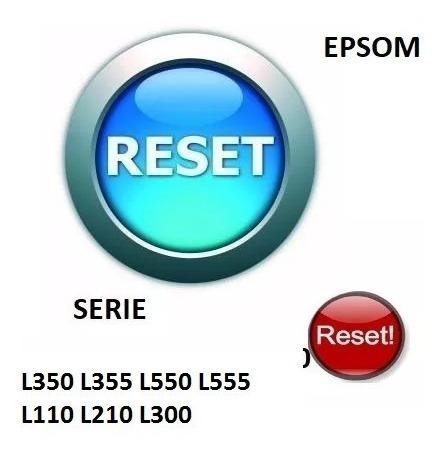 reset almohadillas epsom serie l350 l355 l550 l555 l110 l210