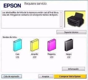 Reset Epson R200 R220 R240 - Computación en Mercado Libre