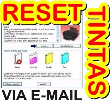 reset epson error nivel tintas l100 l110 l200 l210 l800 l355