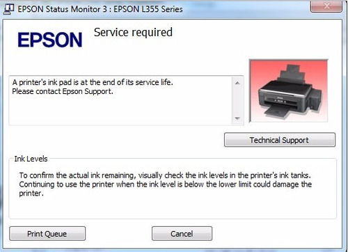 reset epson l120 l375 l656 l575 l380 l395 l396  envio gratis