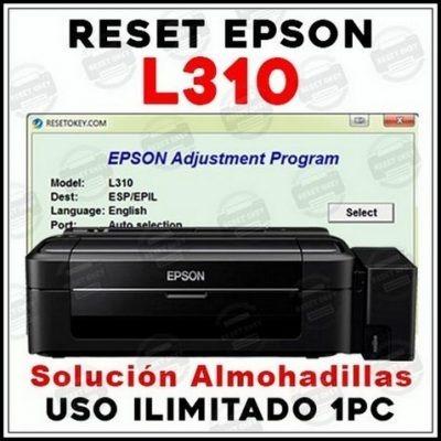Reset Epson L1300 L1800 L310 L1110 L380 L395 L495 L606 R270