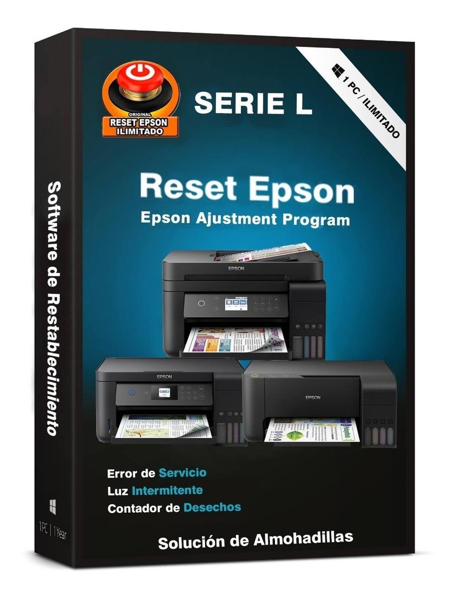 Reset Epson L3150 L3110 L4150 L4160 L355 L365 L375 L475 L565