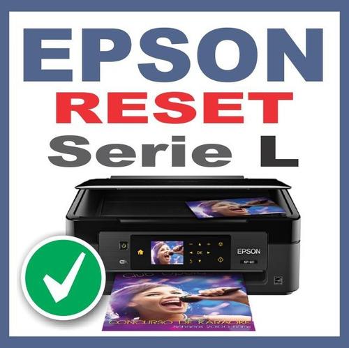 reset epson l380 l383  l385 l485