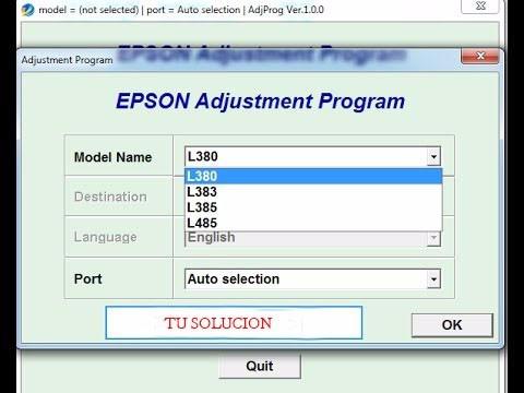 reset epson l380 l383 l385 l485 l382 l386 l486 original