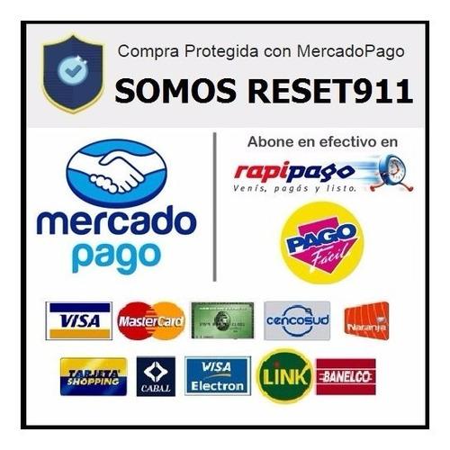reset epson l395 l495 desbloqueo almohadillas envio gratis
