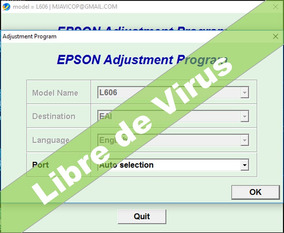 Reset Epson L606, L605- Corrige Error Almohadillas Al 100%