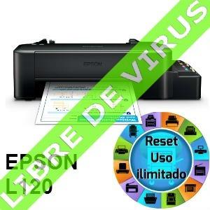 reset epson modelos l -100% libre de vírus - ilimitado
