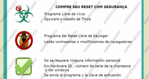 reset epson modelos l -100% libre de vírus trial