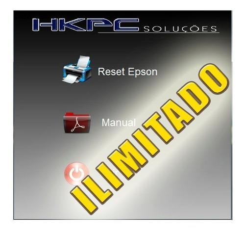 reset epson tx235w - ilimitado
