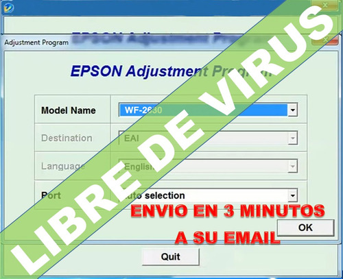 reset epson wf2630 workforce