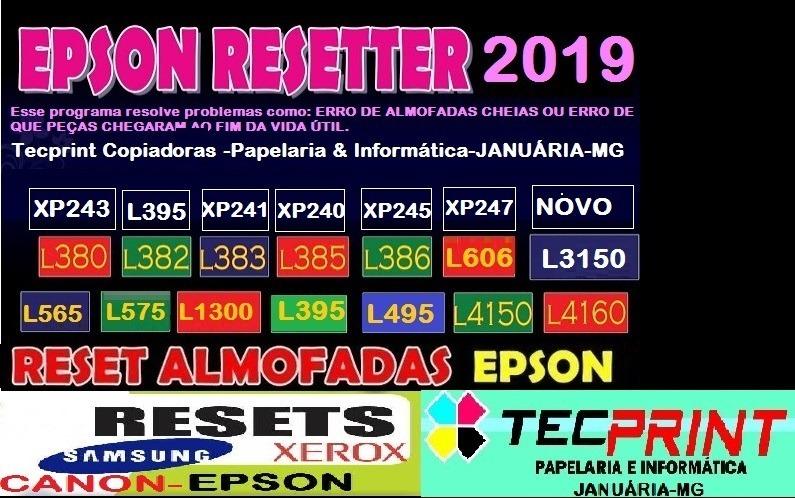 Reset Epson Xp245xp240-xp241-xp243-xp245-xp247 Use Ilimitado