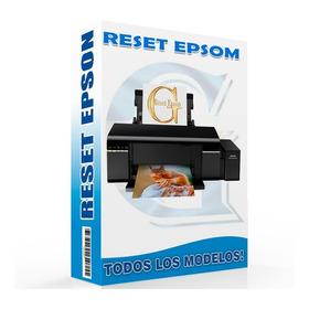 Reset Impresora Epson L395 L495 Uso Iilimitado