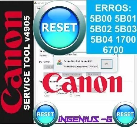 reset impresoras canon g1100 2100 g3100 g4100 mb2010 mb5310
