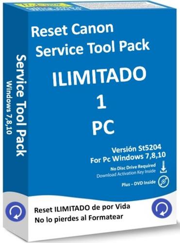 reset impresoras canon st5204  e2110 g3110  mp  envio gratis