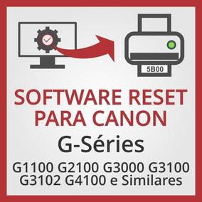 Reset Impressoras Canon