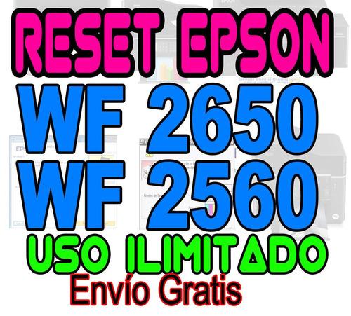 reset oficial wf2650 wf2660 repara almohadillas garantizad