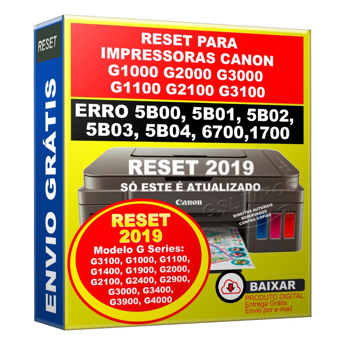 Canon ix6560 error code