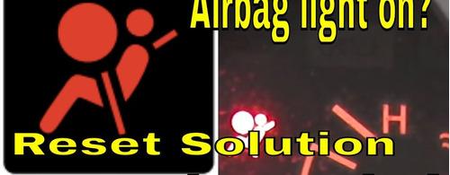 reset registro de colisão do modulo air bag diversos modelos