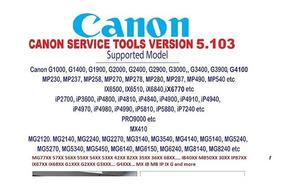 Reset Canon (service Tool) Mg2910 - Impressoras [Melhor Preço] no