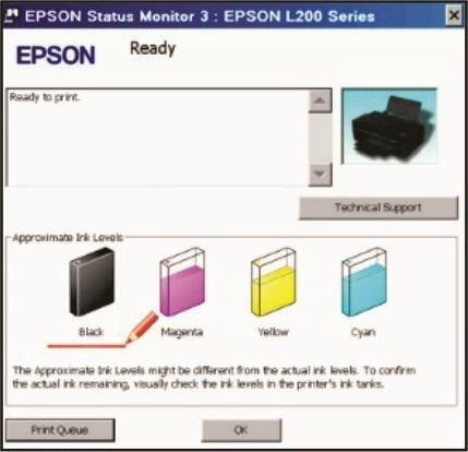 reset tinta epson l100, l110, l200, l210, l355, l555, l800
