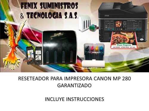 reseteador canon mp 280