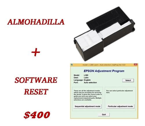 reseteador de almohadillas epson l3110 l1110 l395 l4150 l380