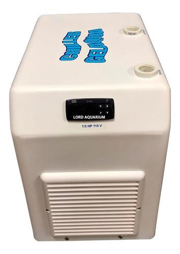 resfriador chiller gelaqua 1/3 hp aquário 250 até 750l