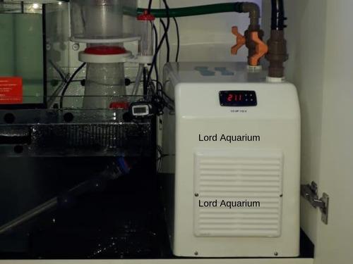 resfriador chiller gelaqua 1/3 hp aquários até 750l novo