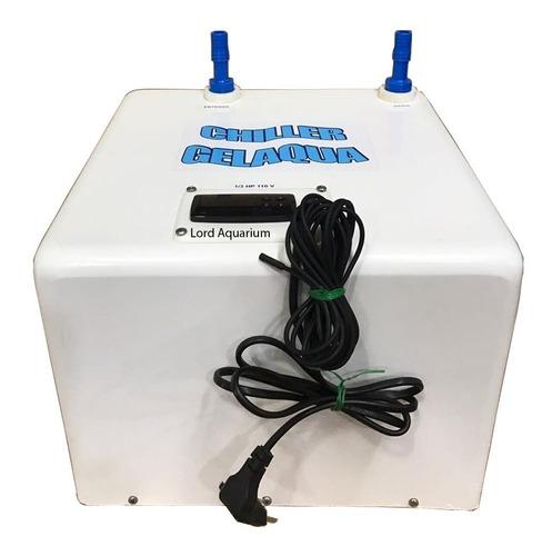 resfriador - chiller gelaqua 1/8 hp para aquários até 150l