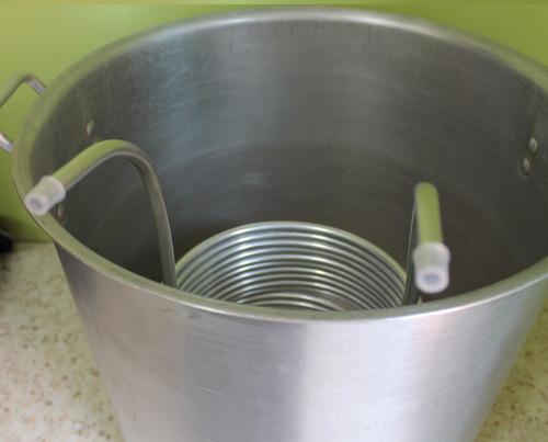 resfriador imersão 15m 3/8 chiller cerveja artesanal