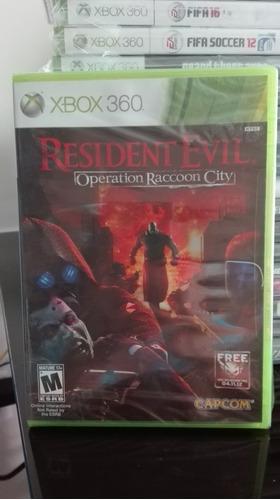 residen evil operation raccoon city xbox 360 nuevo