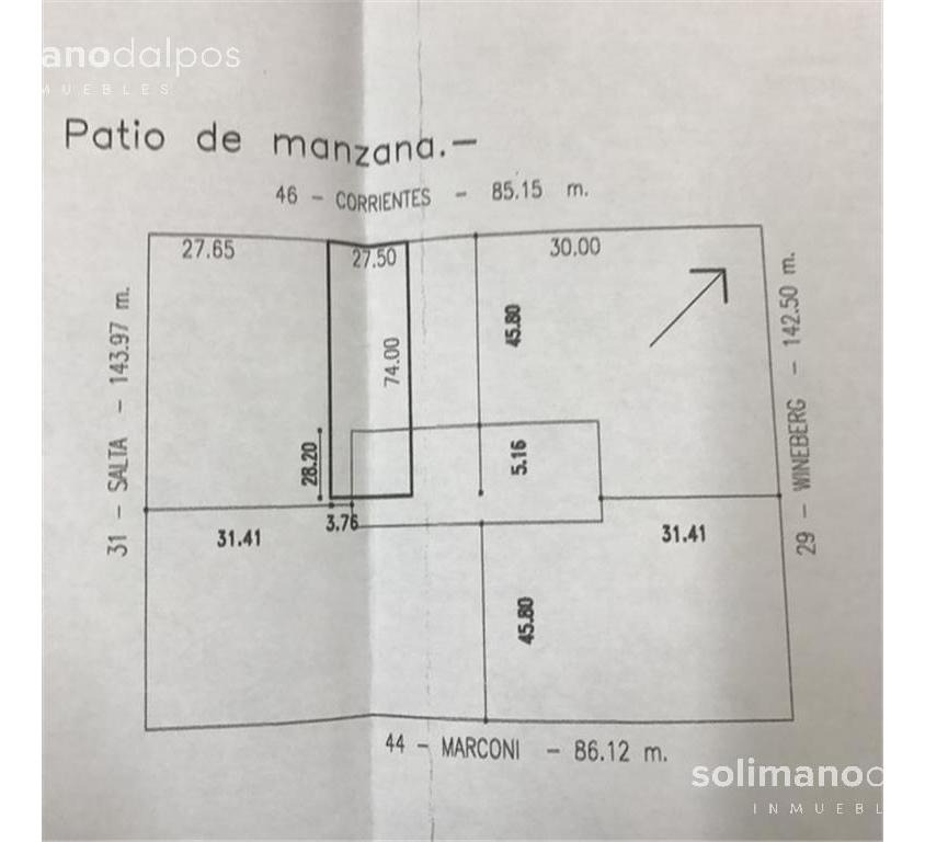 residencia de 2035 mts de terreno en exclusiva zona  - olivos-vias/maipu