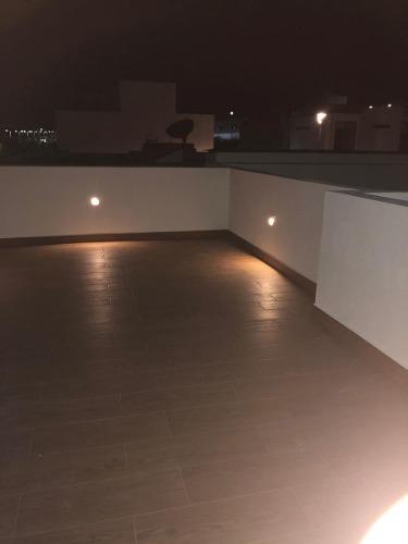 residencia de autor en zibatá, roof garden, doble altura, 3 recamaras con baño,.