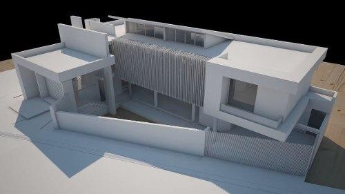 residencia de autor, pedregal de vista hermosa, 3 recámaras, sótano doble altura