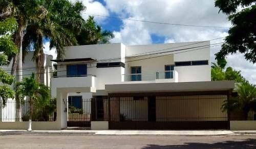 residencia de lujo de 4 recámaras  en montecristo merida yuc.