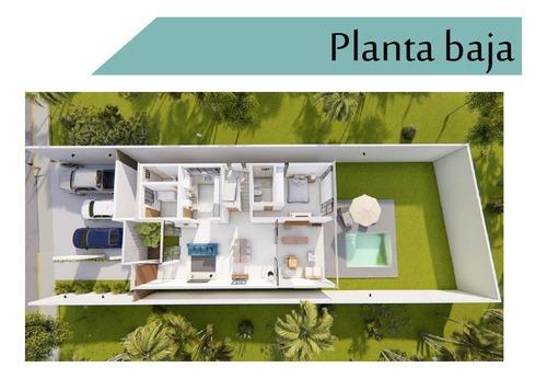 residencia en privada arborea  modelo b1 lote 119, conkal.