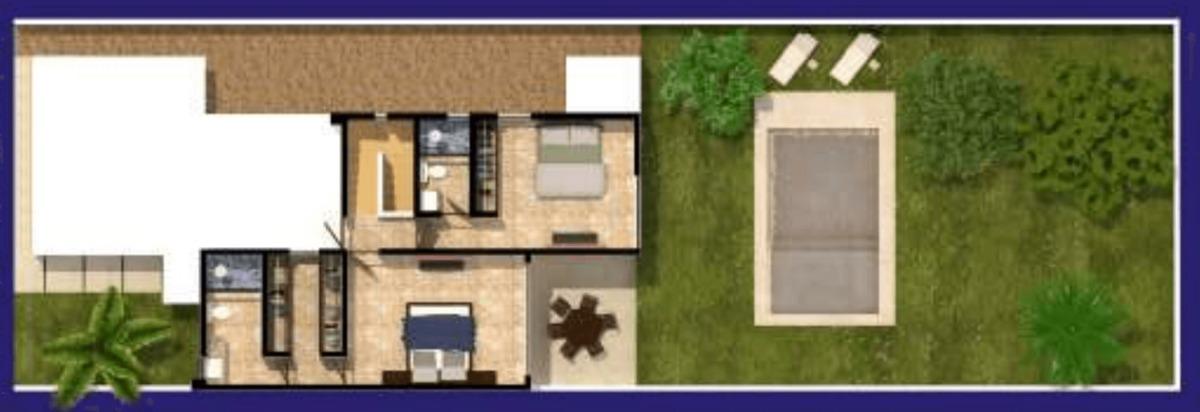 residencia en privada avenida conkal