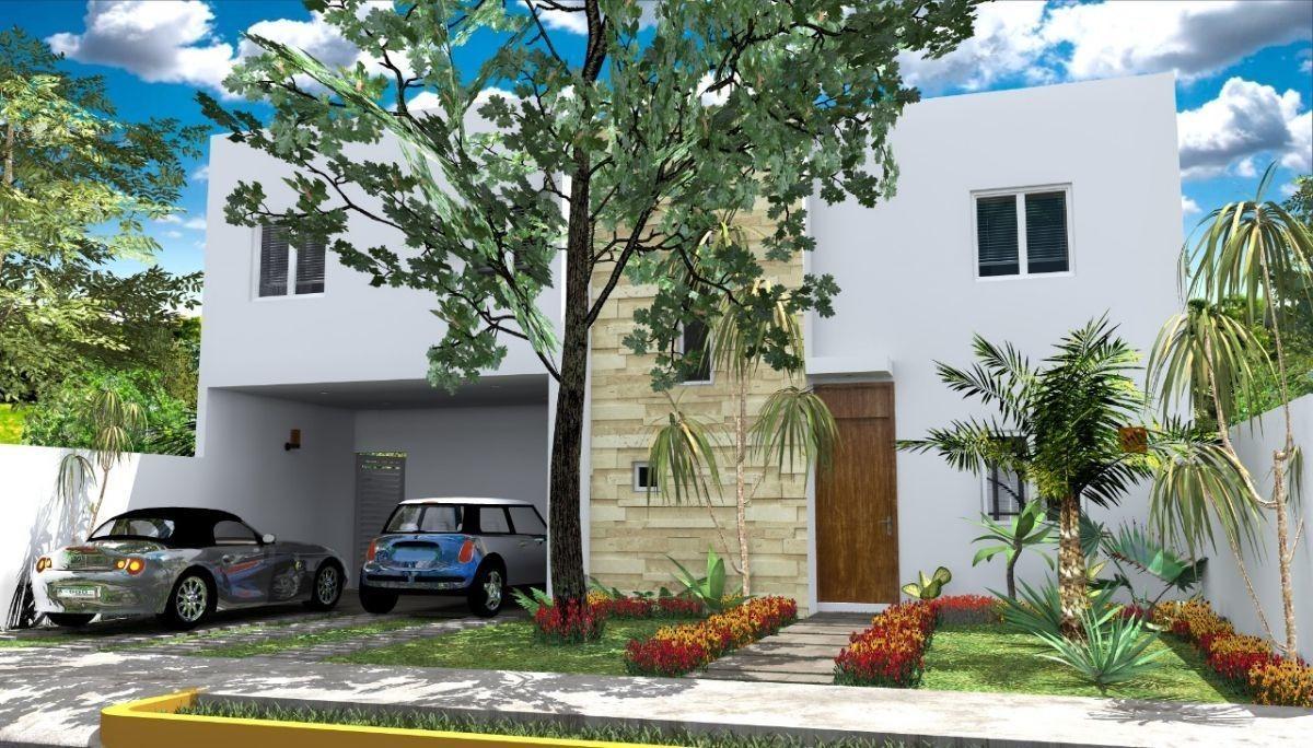 residencia en privada bosques de conkal