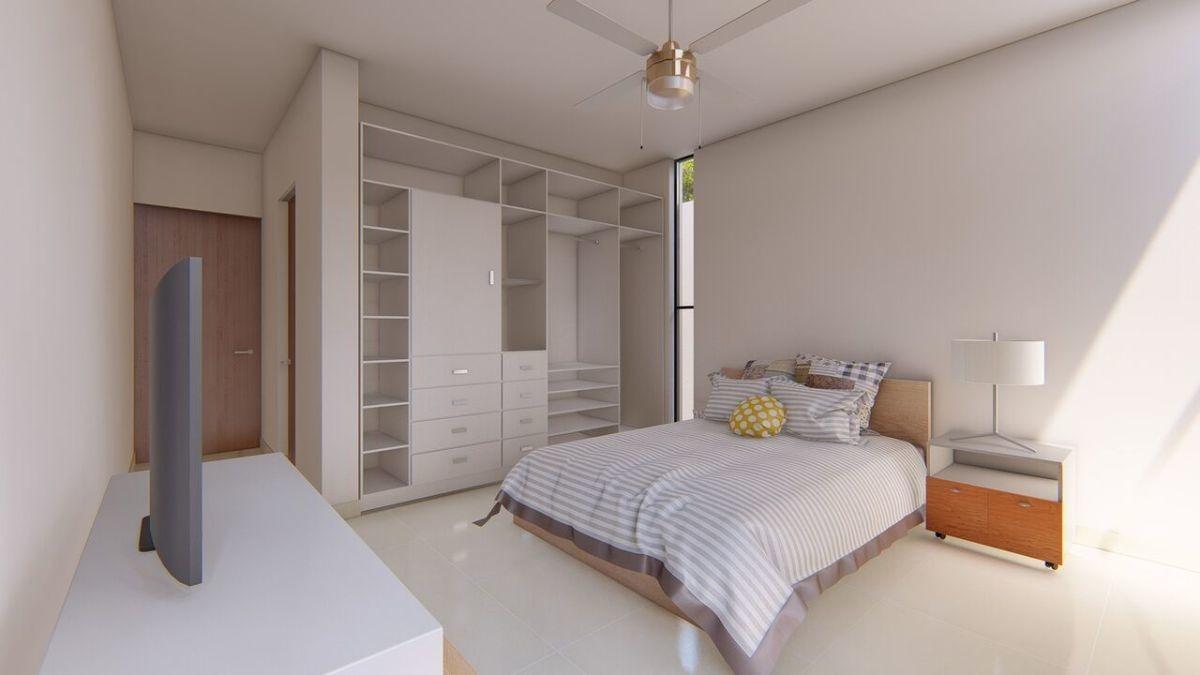 residencia en venta en privada arbórea en conkal lot. 119