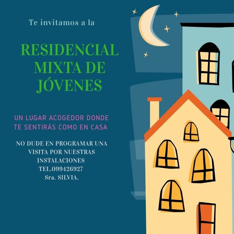 residencia estudiantil, hogar, para estudiantes y/o trabajen