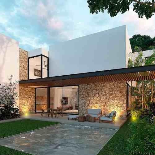 residencia nueva en venta en solasta kappra, modelo b, temozón, mérida norte