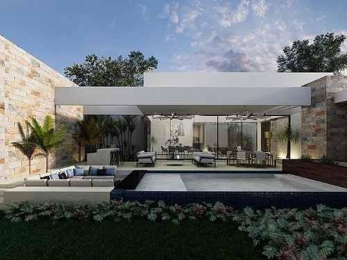 residencia una planta de lujo en privada