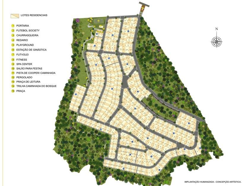 residencial belbancy-lotes facilitados em 180 meses
