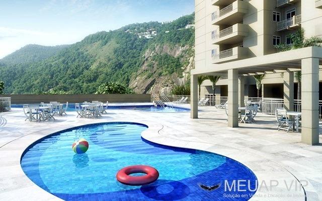 residencial bossa nova - apartamento com 3 dormitórios para vendar em santos - lo1086 - 32890464