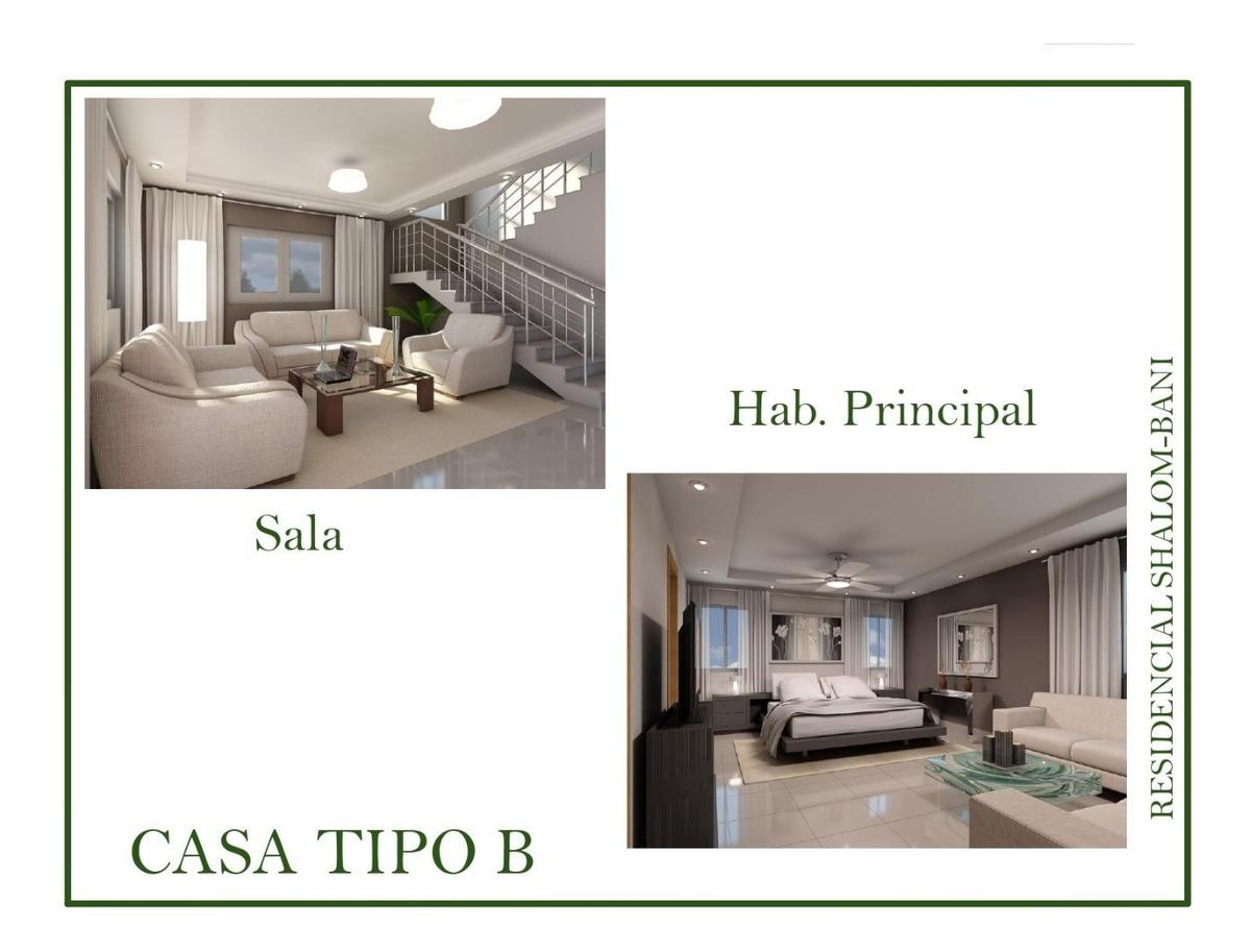 residencial de casa  primera etapa tipo a, tipo b
