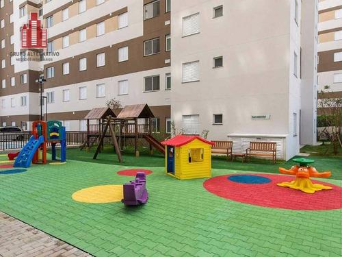 residencial ello home club itaquera 2 dorms 1 vaga lazer completo - ap0206