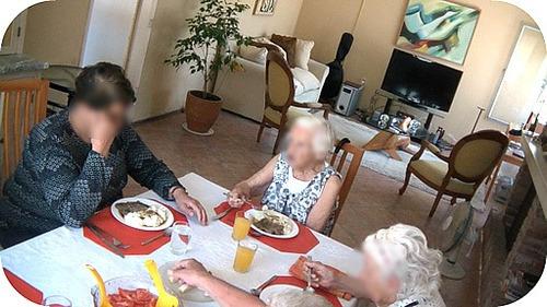 residencial femenina ancianas,adulto mayor, hogareño