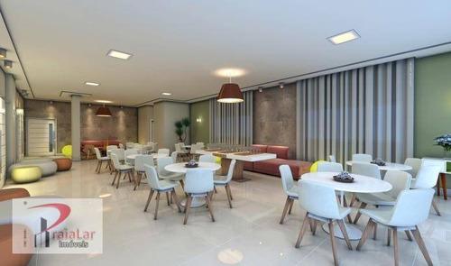 residencial olympo com 2 dormitórios sendo lazer completo em praia grande. - ap1359