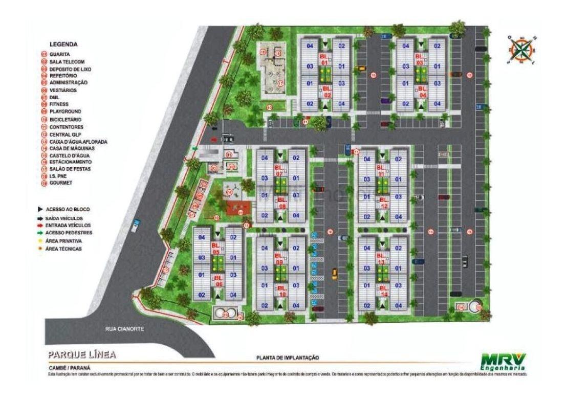residencial parque linea  - mi680