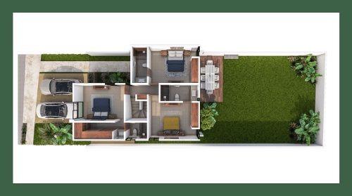 residencial privada olivos modelo 167